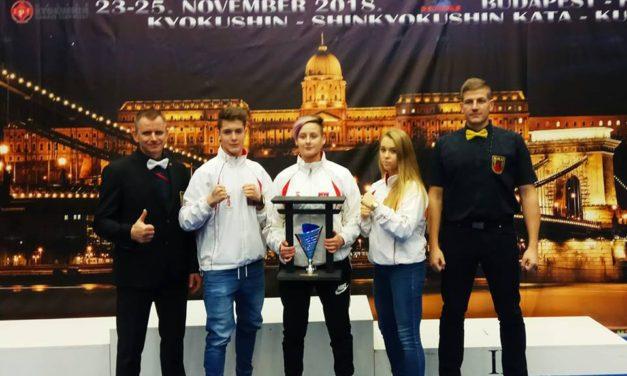 Mistrzostwa Europy U16, U21 i Open Seniorów – Węgry 2018